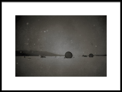 Art print titled Airborne6 On Ground by the artist Martin Van Hoecke