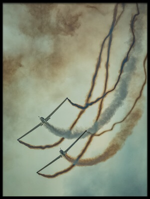 Art print titled Aircraft, Study #2 by the artist Yancho Sabev