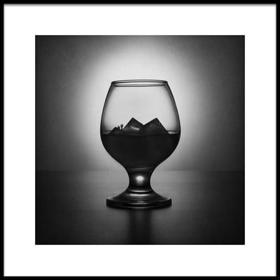 Art print titled Alcoholism Kills by the artist Victoria Ivanova
