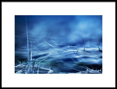 Art print titled Alien Waters No3 by the artist Willy Marthinussen