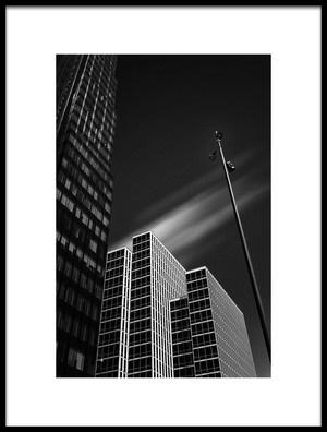 Art print titled Almere WTC Martinez 2 by the artist Eric Mattheyses
