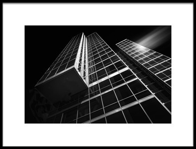 Art print titled Almere WTC Martinez 3 by the artist Eric Mattheyses
