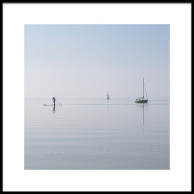 Art print titled Almost Nothing by the artist Robert Loffler