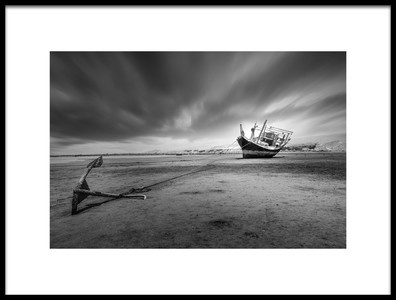 Art print titled Alone by the artist shahram jahansooz