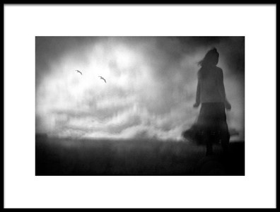 Art print titled Alone by the artist Teruhiko Tsuchida