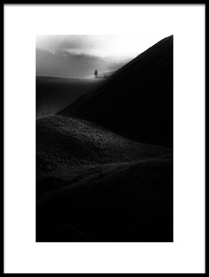 Art print titled Alone by the artist raung binaia