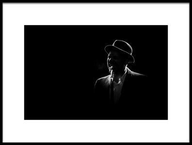 Buy this art print titled Alone On Stage by the artist Christophe