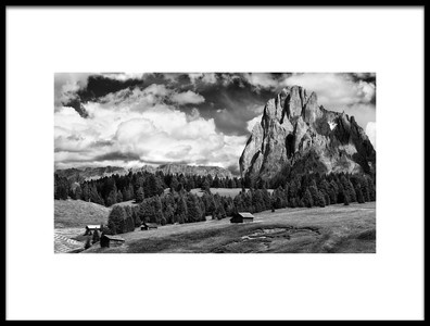 Art print titled Alpe Di Suisi by the artist Marcel Rebro