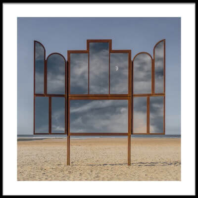 Art print titled Altar by the artist Luc Vangindertael (laGrange)