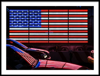 Buy this art print titled America Is Watching You by the artist Hervé Loire