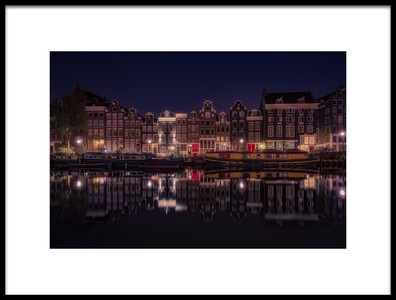 Buy this art print titled Amsterdam by the artist Adhemar Duro