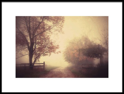 Art print titled An Autumn Day Forever by the artist Joseph Mazzucco