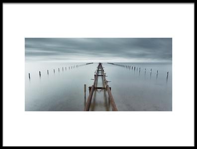 Art print titled An Ocean Between Us by the artist Mats Reslow