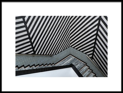 Art print titled An Overload of Stripes by the artist Lus Joosten