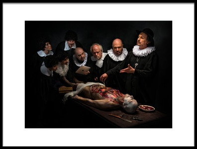 Buy this art print titled Anatomy Lesson II by the artist Derek Galon MA FRPS FOPS