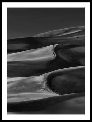 Buy this art print titled And All Around Is the Desert  by the artist Yvette Depaepe