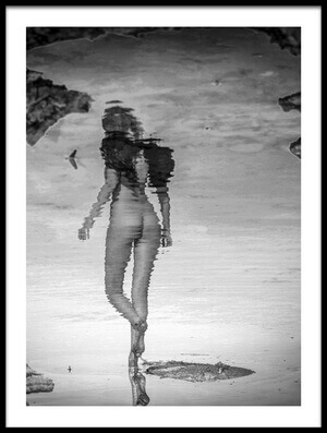 Buy this art print titled Angelic Reflection by the artist Shuki Laufer