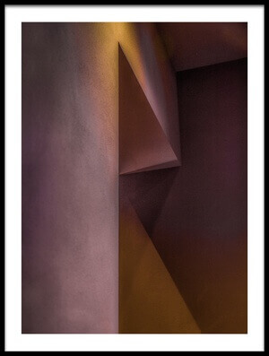 Art print titled Angles In a Room by the artist Inge Schuster