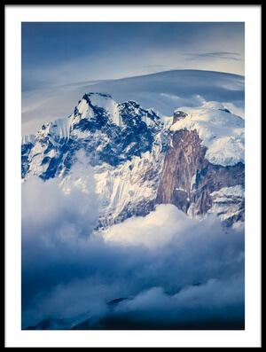 Buy this art print titled Annapurna Range by the artist Adrian Popan