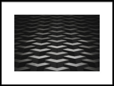 Art print titled Another Piece of My Geometric Period by the artist Vaclav Kindl