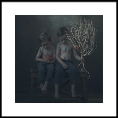 Art print titled Appel by the artist Ewa Cwikla