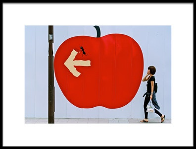 Buy this art print titled Apple Street by the artist shinjiisobe