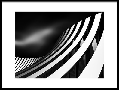 Art print titled Arch Wave by the artist Antonyus Bunjamin (Abe)