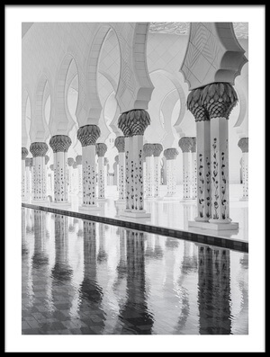 Art print titled Arches by the artist Ahmed Thabet