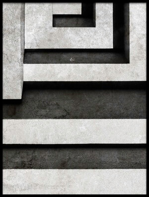 Buy this art print titled Architectural Signs II by the artist Luc Stalmans