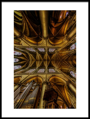 Art print titled ArtTecture by the artist Jackson Carvalho