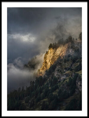Art print titled As the Light Found Its Way by the artist Peter Svoboda, MQEP