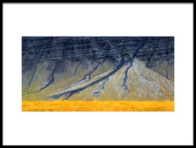 Art print titled Ash Mountain by the artist atelier8