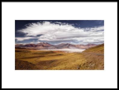 Art print titled Atacama Desert by the artist Adhemar Duro