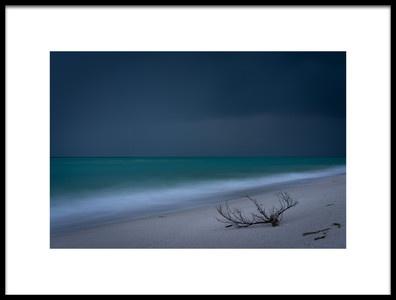 Art print titled Atlantic Storm Arriving by the artist James K. Papp