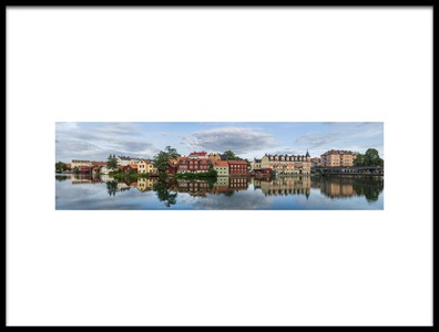 Buy this art print titled August View at Old Town by the artist Arne Östlund