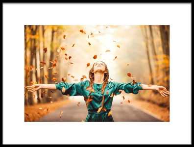 Art print titled Autumn Happiness by the artist Rostovskiy Anton