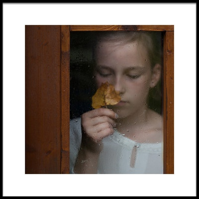 Art print titled Autumn Is Coming by the artist Mirjam Delrue