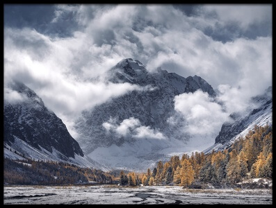 Buy this art print titled Autumn Mountains by the artist Dmitry Kupratsevich