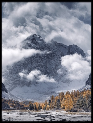 Buy this art print titled Autumn Mountains II by the artist Dmitry Kupratsevich