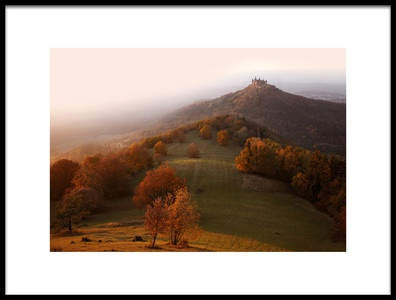 Art print titled Autumn On the Swabian Alb by the artist Nicolas Schumacher