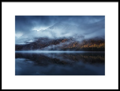 Buy this art print titled Autumn Reflection by the artist Dmitry Kupratsevich