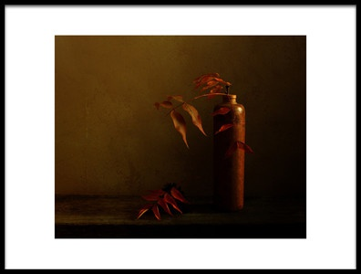 Art print titled Autumn Reverie by the artist Margaret Halaby