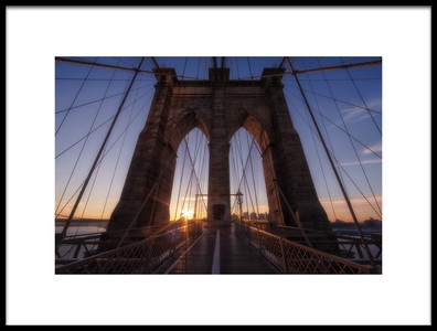 Buy this art print titled Back to Brooklyn by the artist Adhemar Duro