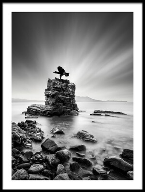 Art print titled Bakasana 03 by the artist George Digalakis