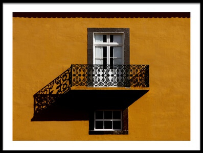 Buy this art print titled Balcon by the artist Hans-Wolfgang Hawerkamp