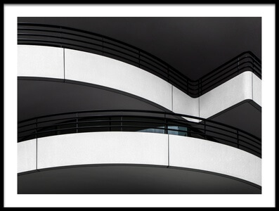 Buy this art print titled Balcony Lines by the artist Gilbert Claes