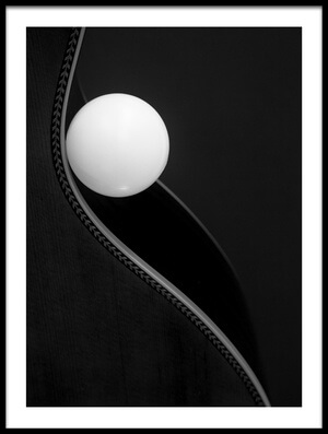 Buy this art print titled Ball On a Curve by the artist Jacqueline Hammer