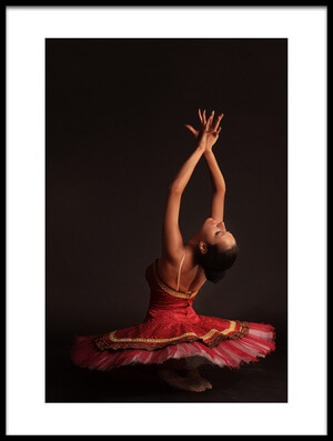 Buy this art print titled Ballerina by the artist Stoyan Atanasov