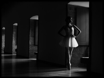 Buy this art print titled Ballerina and Windows by the artist Paulo Medeiros