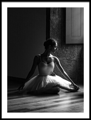 Buy this art print titled Ballerina by the Window by the artist Paulo Medeiros